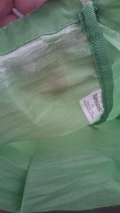 Thermarest Trail Pro polyester bewaarzak slijtage