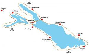 bodensee-radweg verkorte versie