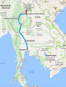 Fietsen door Zuid-Oost Azië – Thailand deel 4