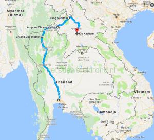 Fietsen door Zuid-Oost Azië – Laos deel 6