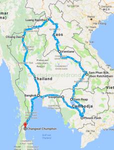 Fietsen door Zuid-Oost Azië – Thailand deel 10