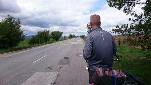 Met de fiets richting Sofia