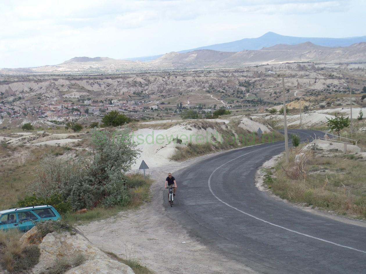 fietsen Turkije Cappadocië