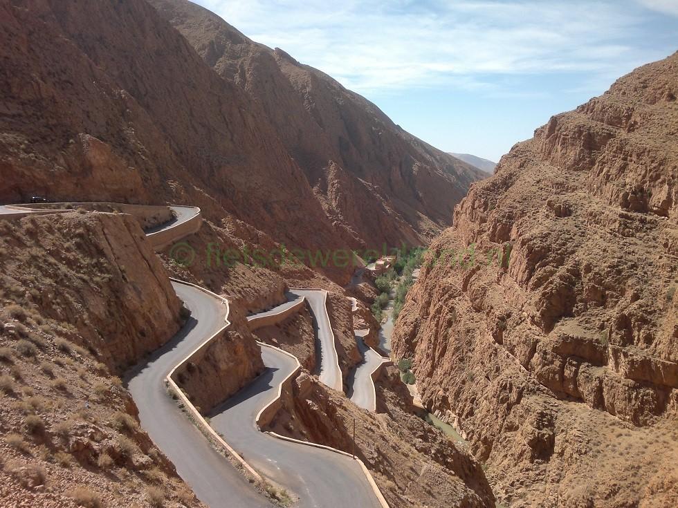 Fietsen door Marokko - Trans Atlas